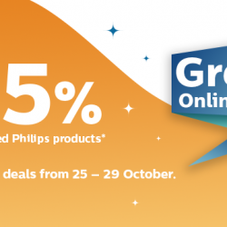 Philips: The Philips Great Online Sale with Up to 45% OFF Selected Philips Products!