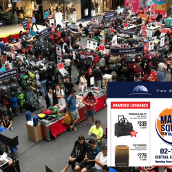 The Planet Traveller: Largest Travel Fair with Up to 90% OFF Travel Gear, Luggage & More at Marina Square Central Atrium!