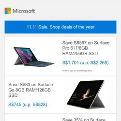 [Microsoft Store] 11.11 Sale. Shop deals of the year >>>