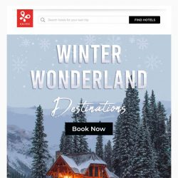 [Kaligo] , winter is almost here! - enjoy up to 9,483 miles at these top destinations