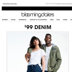 [Bloomingdales] $99 denim from 7 For All Mankind, Joe's Jeans more 👖 🎉