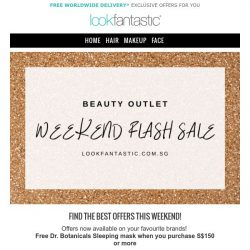 [lookfantastic] WEEKEND FLASH SALE! Zelens, By Terry and more!