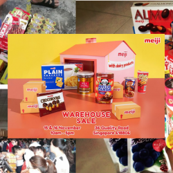 Meiji: Annual Warehouse Sale 2019 with Deals on Hello Panda, Yan Yan, Melty Kiss & More Goodies!