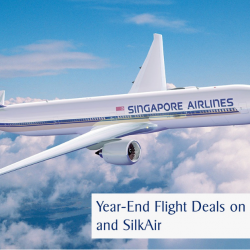 Singapore Airlines: Year-End Flight Deals to Kuala Lumpur, Bali, Koh Samui, Male, Darwin & More from SGD148!