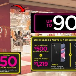 Metro: Exclusive Black Friday Sale with Up to 90% OFF Storewide + Gift-with-Purchases like iPhone 11 & Dyson Supersonic Hair Dryer!
