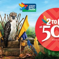 Jurong Bird Park: Local Residents & Filipino Citizens Enjoy 2-to-Go Admission Tickets at 50% OFF!