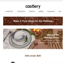 [Castlery] Gifts for Every Budget!