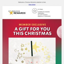 [Starbucks] A special gift for you this Christmas 🎁