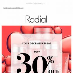 [RODIAL] Drop Everything   30% Off Dragon's Blood