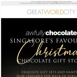 [Great World City]  Awfully Chocolate Christmas Collection