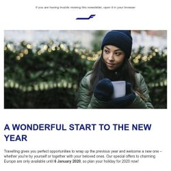 [Finnair] Special flight deals for your New Year holiday