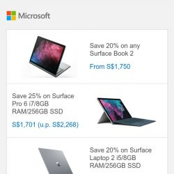 [Microsoft Store] 12.12 Sale ends 11:59 PM. Last chance