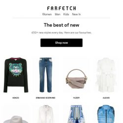 [Farfetch] Get fresh. 450+ ways to update your wardrobe