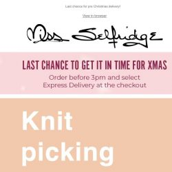 [Miss Selfridge] The it knits you need at sale price!