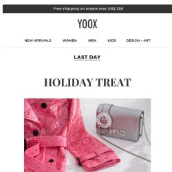 [Yoox] ⏳ Don't miss out on our PROMO