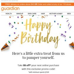 [Guardian] 👑 Your birthday gift is still unopened!