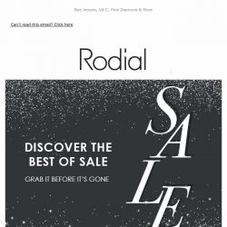 [RODIAL] Your Sale Favourites ❤️
