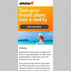 [Jetstar] Turn your travel plans into a reality, Bq Sg!