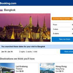 [Booking.com] Deals in Bangkok from S$ 16