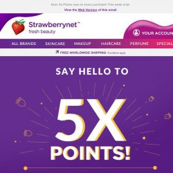 [StrawberryNet] 💰Here's how to earn 5x Cash