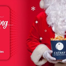 Singtel: Customers Enjoy 1-for-1 Movies Every Day at Cathay Cineplexes!