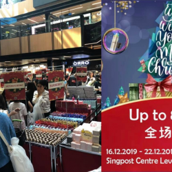 Novela: 2019 Christmas Beauty Fair with Up to 80% OFF SK-II, La Mer, MAC, Estee Lauder & More!
