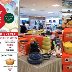 Le Creuset: Festive Sale with Up to $380 OFF French Oven, Cast Iron, Stoneware Collections!
