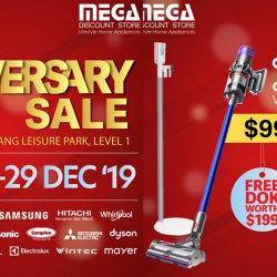 Mega Discount Store: 25th Anniversary Sale with Up to 80% OFF Home Appliances from Samsung, Brandt, Tefal, Dyson & More!