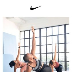 [Nike] Recharge and refocus with Nike Yoga