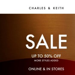 [Charles & Keith] Further Reductions: Up To 50% Off