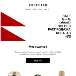 [Farfetch] Sale: now up to 70% off. Here's what's trending so far