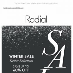 [RODIAL] Save Up To 60% Off    Winter Sale Continues 💕