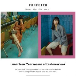 [Farfetch] New (Lunar) Year, new look