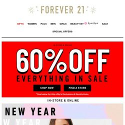 [FOREVER 21] 🔥 Make those resolutions look good