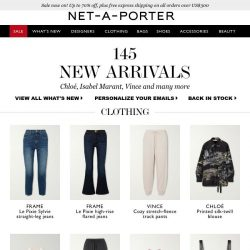 [NET-A-PORTER] Mid-week refresh, ? Discover today's What's New