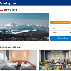 [Booking.com] Deals in Nowy Targ from S$ 31