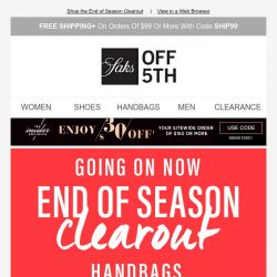[Saks OFF 5th] All the cold-weather styles you need starting at $39.99