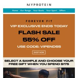 [MyProtein] Treat Yourself to 50% Off!