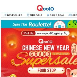 [Qoo10] Save big with these auspicious foods 🍊! Everything you need to prepare for all the CNY gatherings!