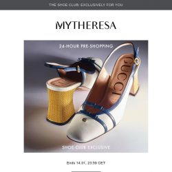 [mytheresa] 👠24-hour pre-shopping: Gucci, The Row and more