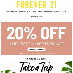 [FOREVER 21] 👙 BETTER PACK THESE