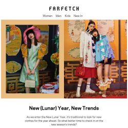 [Farfetch] The trends to try this Lunar New Year