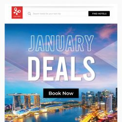 [Kaligo] , January DEALS are here! Enjoy up to 9,875 miles