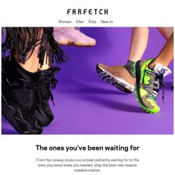 [Farfetch] New-season sneakers just dropped