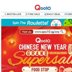 [Qoo10] Auspicious food for a prosperous new year! Only the best dishes for your reunion dinner! 🍲