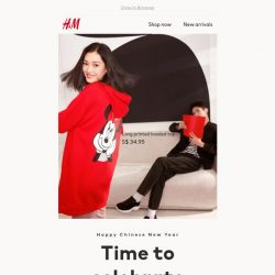 [H&M] Celebrate Chinese New Year in style