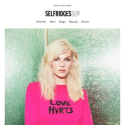 [Selfridges & Co] Our brilliant bestsellers are just a click away