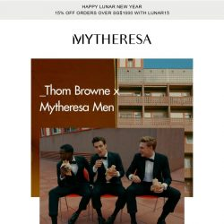 [mytheresa] Thom Browne x Mytheresa Men: The exclusive capsule collection