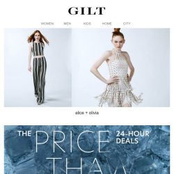 [Gilt] alice + olivia | The Price Thaw for 24 Hours Only
