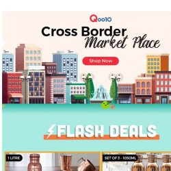 [Qoo10] Everything you need on Cross Border Marketplace! Great savings from home and living to fashion and many more! 🛒